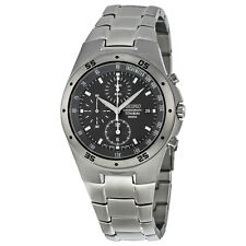 Seiko Titanium Chronograph Mens Watch SND419