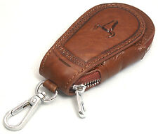 Universal Car Smart Key Chain Leather Holder Cover Case Purse Bag Fob Remote-602