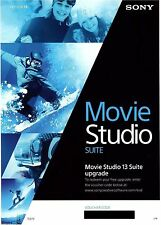Sony Vegas Movie Studio Hd Platinum producción Suite 13, licencia de actualización
