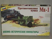 Zvezda 1/35 Scale 6 Pdr. Anti-Tank Gun, Mk-1