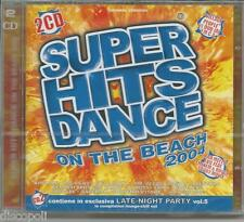 SUPER HITS DANCE ON THE BEACH 2004 - GIGI D'AGOSTINO DOPPIO CD SIGILLATO