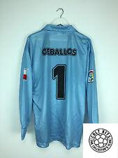 Racing Santander CEBALLOS #1 02/03 *MATCH WORN* GK Football Shirt (XL) Jersey