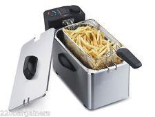 Alpina NEW 220 Volt 3.5L Deep Fryer for Europe UK Asia Africa 220V 240V