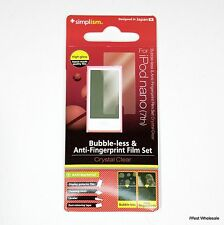 iPod nano 7th Gen - Screen Print Protector Film | Simplism TR-PFNN12-BLCC/EN