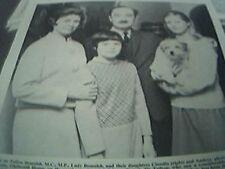 ephemera sussex 1967 picture colonel tufton beamish claudia andrea