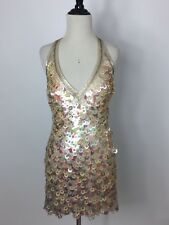 NEW WOMEN'S SUE WONG NOCTURNE SEQUIN DRESS SIZE: 6