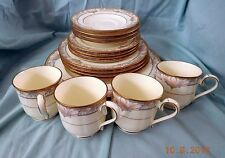 20pc SET - Noritake China BARRYMORE Service for Four