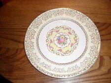 "Limoges Candle Light Royal Delight Dinner Plate 9 1/8"" 22K Gold"