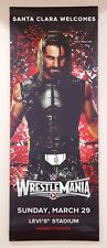 Seth Rollins WWE Wrestlemania XXXI 31 2-Sided Street Banner, Flag / Poster MINT