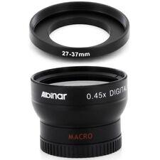 Albinar 27mm Wide Angle Lens with Macro Part for JVC GR D775U D770 D870 DA30US