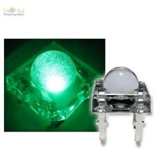 20 Superflux LED Piranha Verde 5mm GREEN SPIDER LED DIODI VERDE GREEN
