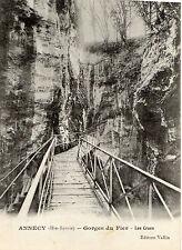 OLD POSTCARD -  FRANCE - ANNECY ( Hte Savoie) - Gorges du Fler - Les Crues -1910
