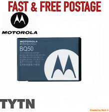 GENUINE MOTOROLA (BQ50) BATTERY - EM330 VE240 W175 E370 E376 W233 W376 W377 W450