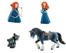 DISNEY BULLYLAND BULLY MERIDA RIBELLE THE BRAVE SERIE 4 PERSONAGGI