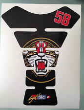 Marco Simoncelli Tank STICKER (NOT TANKPAD / NO GEL / ONLY STICKER!)