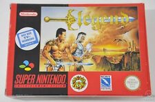 Legend-SNES GIOCO-Nintendo-Pal Super-Boxed & COMPLETA