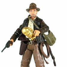 "New 3.75'' Indiana Jones Loose Action figure With Lot Accessory 3.75"" Gift / Toy"