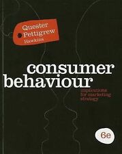 Consumer Behaviour: Implications for Marketing Strategy by Simone Pettigrew,...