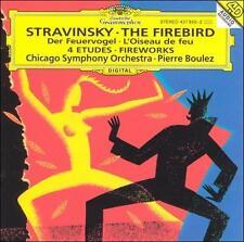 Stravinsky: L'Oiseau de Feu; Feu d'artifice; Quatre Etudes pour orchestre Chica