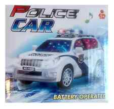 New Bump and Go  Police Car  Motorcar With Flashing Top Lights (Kids Toy)