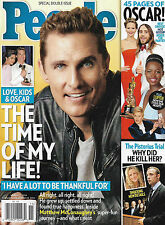 Matthew McConaughey, Oscar Pistorius, 2014 Oscars Special Double Issue People