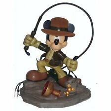Disney Parks Mickey Mouse as Indiana Jones Medium Figure Figurine New In Box