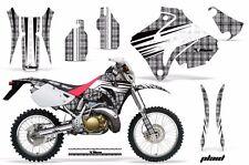 Honda Graphic Kit AMR Racing Bike Decal CRM  250AR Decal MX Part ALL PLAID SILVR