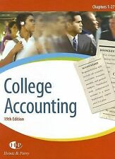College Accounting, Chapters 1-27-ExLibrary