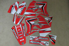 FLU PTS2  team graphics Honda 1995 1996  CR125 CR125R  CR250 CR250R