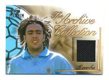 2003 FUTERA PLATINUM ALVARO RECOBA GAME-USED JERSEY CARD URUGUAY #69/250