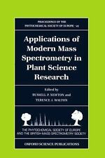 Applications of Modern Mass Spectrometry in Plant Science Research (Proceedings