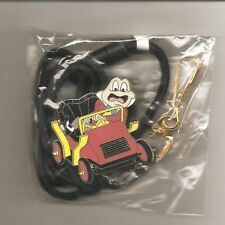 "Disney Cast Member ""Mr. Toad"" From Mr. Toad's Wild Ride Attraction ID Lanyard"