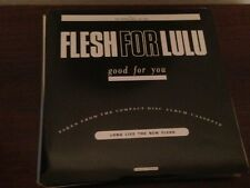 "FLESH FOR LULU / PASSION FODDER 7"" SINGLE UK SPLIT PROM0 ONLY GOOD FOR YOU"