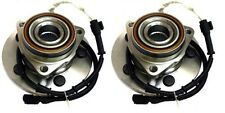 2 (Pair) New Front Wheel Hub & Bearing Assembly Navigator Expedition 4WD ABS