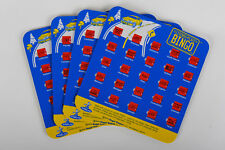 Regal Games Travel Bingo Pack of Four Blue License Plate Bingo For Roadtrips