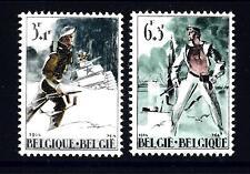 """BELGIUM - BELGIO - 1964 - Resistenza e liberazione. A favore del """"Centro interna"""