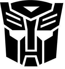 (2x) Transformers Autobot Vinyl Decal Sticker Car Hood Window Laptop Optimus