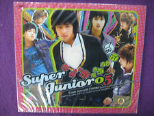 Super Junior 05 1st DEBUT Album CD NEW SEALED