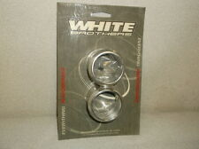 """White Bros 'Porker' End Caps for 2-1/4"""" Straight Cut Pipes - $49 NEW!!!"""