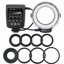 UK Meike FC-100 Macro Ring Flash/Light For Canon Nikon Olympus Panasonic Pentax