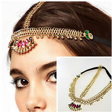 New Fashion Rhinestone Crystal Head Chain Headband Headpiece Hair Band Jewelry