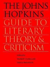 The Johns Hopkins Guide to Literary Theory and Criticism, , Good Book