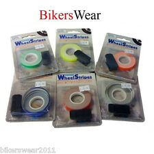 Oxford Wheel Stripes With 3M Applicator Green Fluo Essential Motorcycle