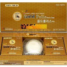Korean Gold Polis Functional beauty Soap 300g (100g x 3ea) Propolis
