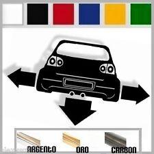 adesivo sticker volkswagen GOLF 5 mk5  r32 tuning down-out dub prespaziato,auto