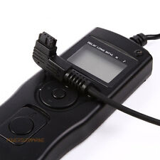 LCD Timer Intervalometer Remote For Sony A900 A100 A700 A200 A300 A350 A560 A550