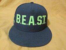 Men's Nike True Snapback Baseball Cap Hat Seattle Seahawks Beast Mode Blue/Green