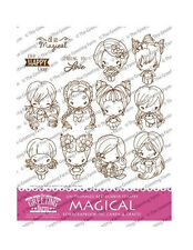 MAGICAL KIT-The Greeting Farm Cling Rubber Stamp-Stamping Craft-Cards-Bean