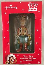 HALLMARK - Toy Story - Woody - Christmas tree blown glass ornament 2015 NIP
