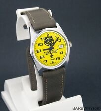 Vintage wind-up Cub Scouts Advertising Character Watch by Timex